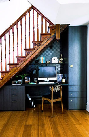 Looking for a great spot to perform your home-based work How about something nearby the staircase