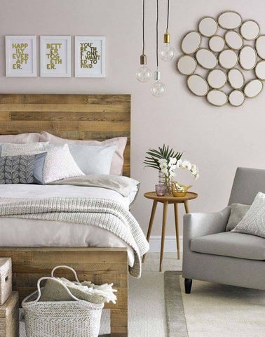 Master bedroom is the sanctuary, the very core of our homes where we can unwind, relax. Use pendent lights to lighten up your reading nook or bedside table