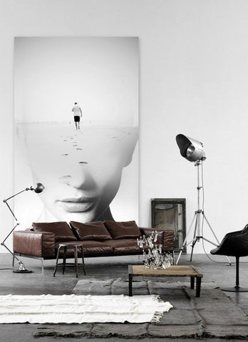 Old-world floor lamps are an integral part of a masculine decor. The industrial nature of these lighting objects screams gentleman, reminding one of the era where innovation and techno