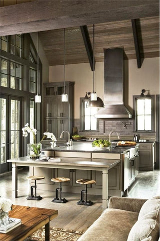 Stainless steel is among the best materials to use in contemporary kitchens