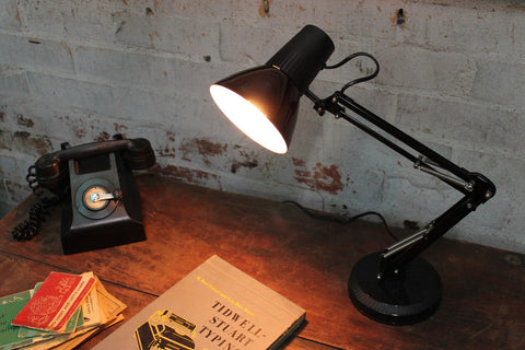 retro desk lamp - superlux small