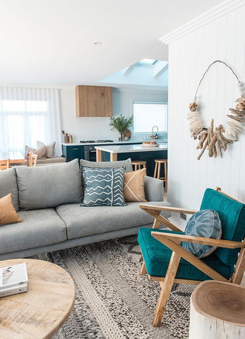 Beach living room