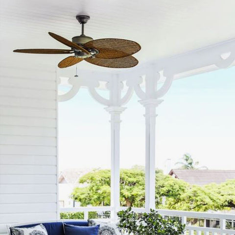 Outdoor Fan on veranda