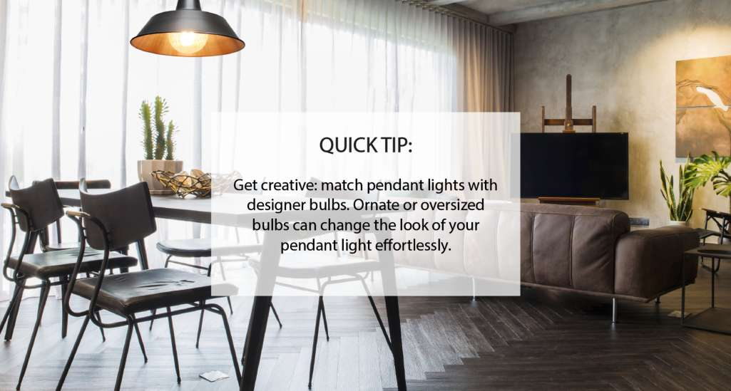 Pendant light buying tip