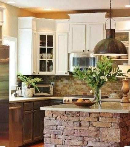 rustic kitchen pendant light