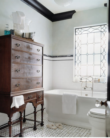black and white bathrooms vintage.  Timeless Black And White Bathroom Design Ideas Fat Shack Vintage