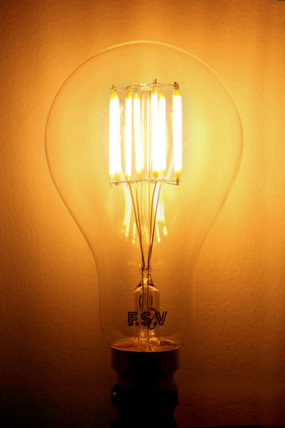 vintage led bulbs classic shape