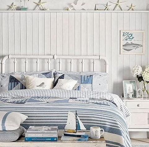White wood and beach inspiration