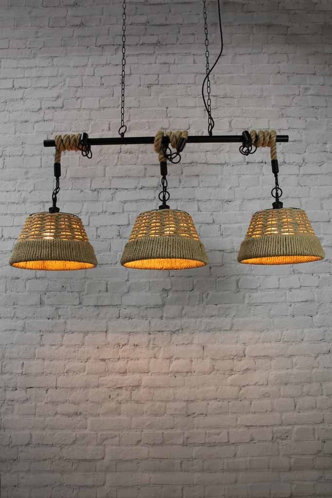 Cove Rope Swing Pendant Light