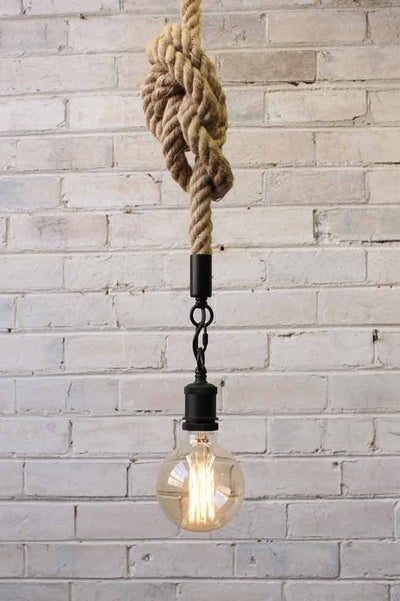 Anchor Rope Pendant Light