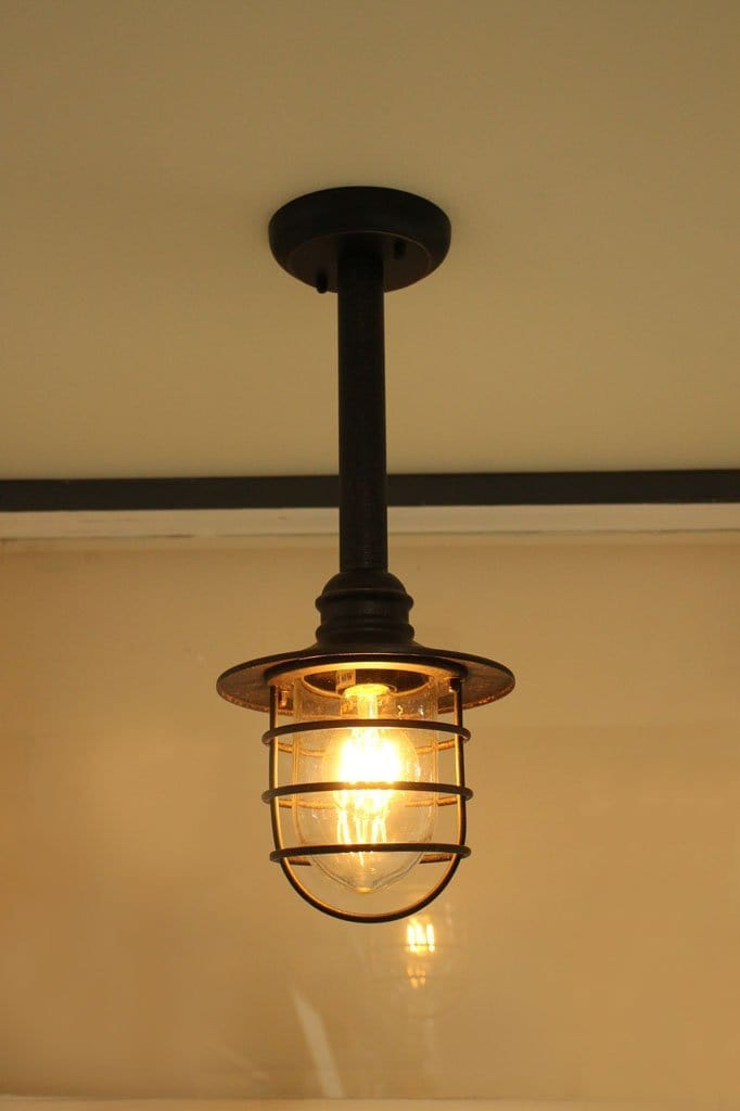 Antique bronze rod pendant. outdoor pendant lights Australia. adjustable hanging pendant light