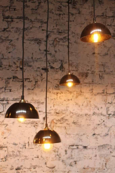 Bakelite bowl pendant chandelier is a 9 pendant light ideal for dining rooms offices or bars
