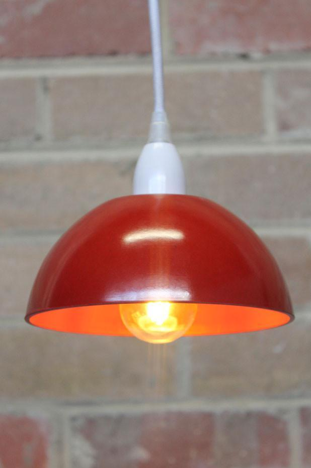 Bakelite Bowl Pendant Light