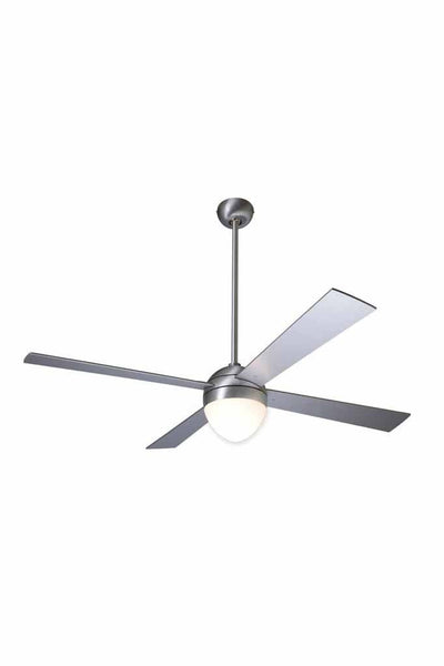 Ball Ceiling Fan in aluminium finish with light 1270c1ef-ed37-4551-90a8-202f5d808406