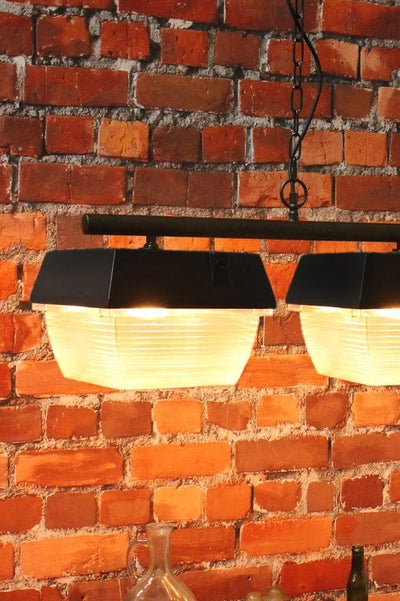 Bar lightng for commercial fitouts. warehouse conversion pendants. pub lighting