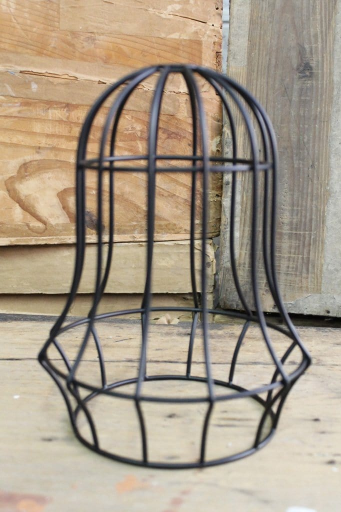 Bell cage light black finish