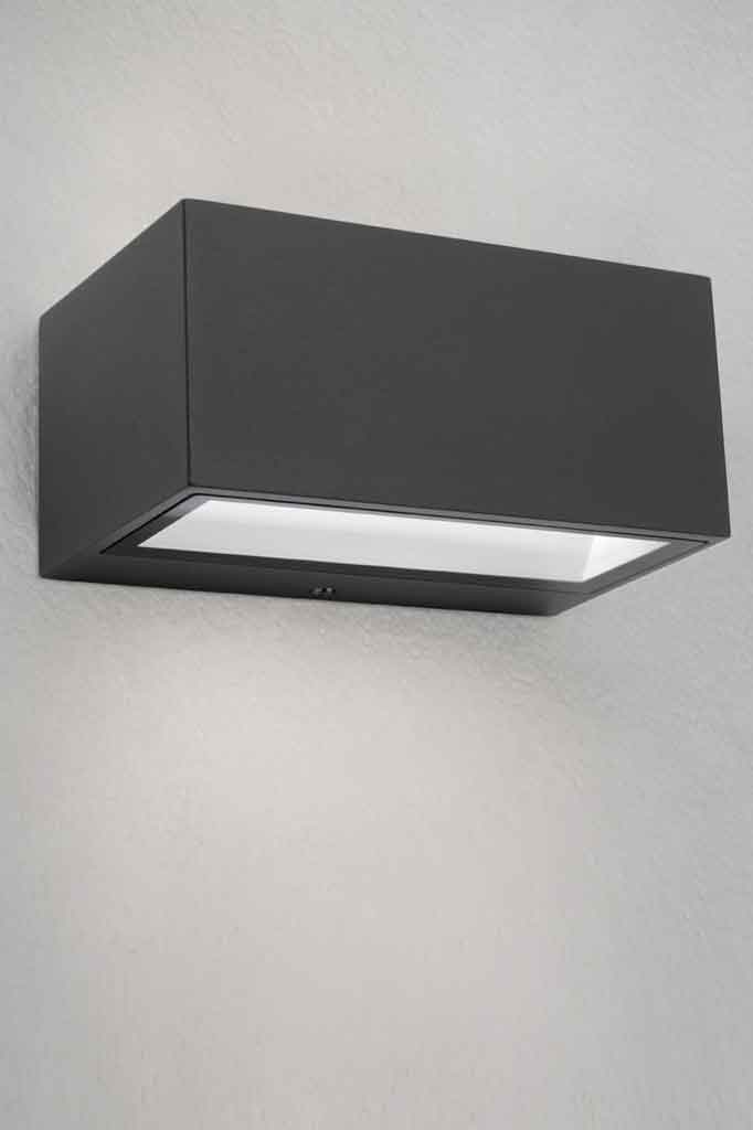 Black Wall Light