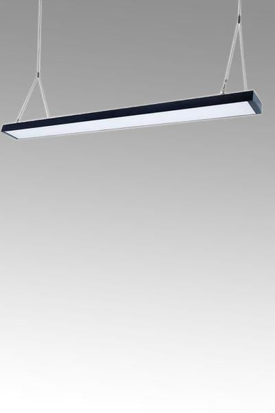 Black linear lighting