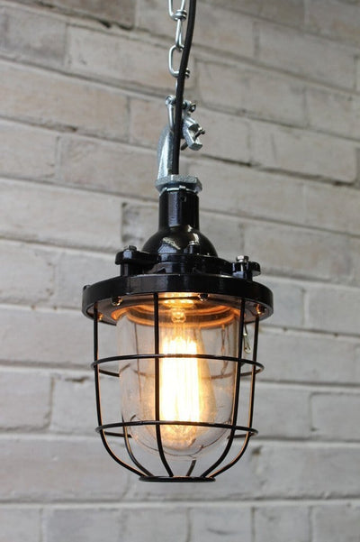Cage Light Industrial Pendant Chain Industrial Lighting