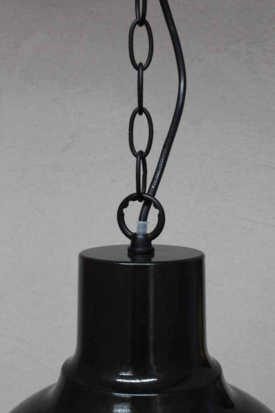 Black chain vintage style light. industrial lighting for residential or commercial. buy lighting online