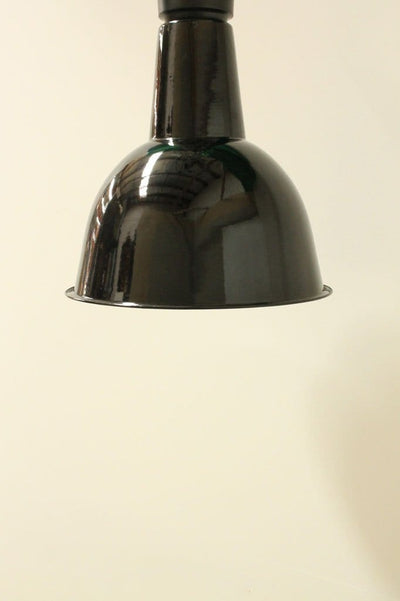 Black flush mount lighting. porcelain enamel steel lighting. ceiling lights for homes