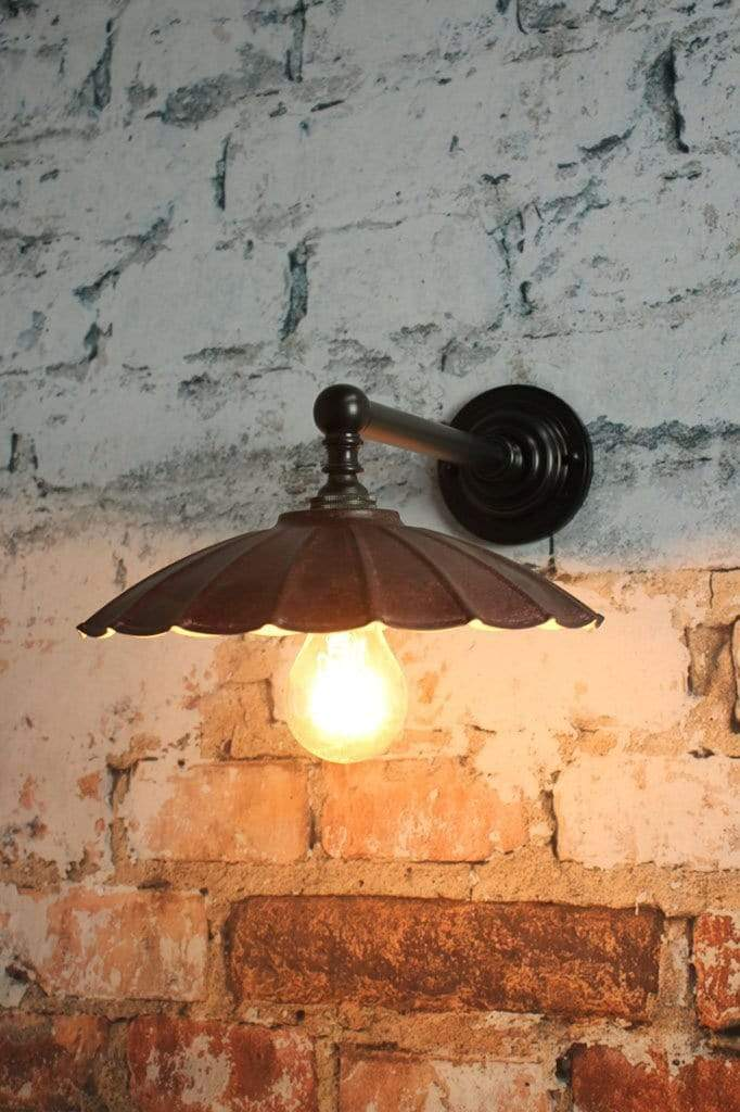 Black vintage lighting for period homes. bedside table wall lights. Australia lighting online.
