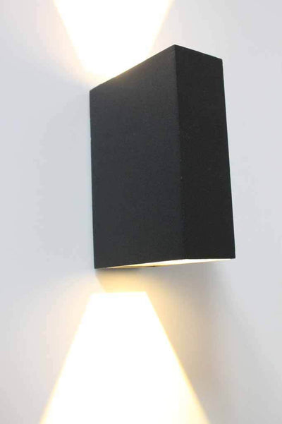 Block wall lighting. black outdoor wall light. buy exterior lights online