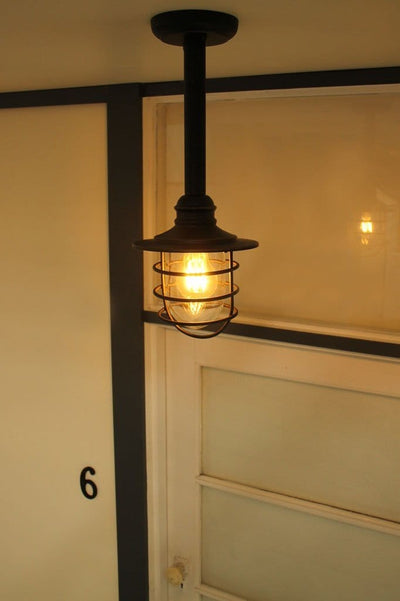 Buy outdoor lighting online. residential pendant light for exterior use.  .