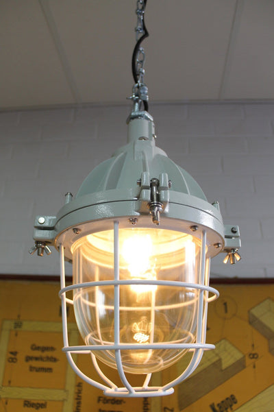 Cage light vintage industrial lighting
