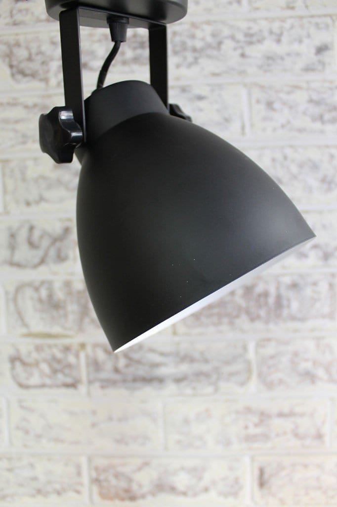 Cellar flush mount light can tilt