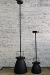 Cellar pendant light pole mount large and small versions
