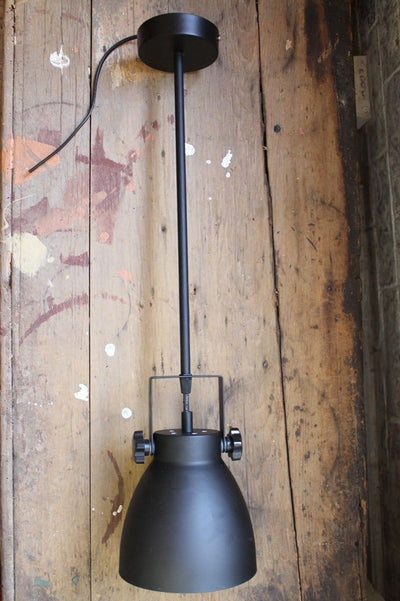 Cellar pendant light pole mount unattached to ceiling