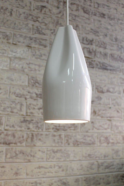 Ceramic Pleat Light takes a e14 bulb b4230b08-94ec-4b95-a019-c6968f4c0c9c