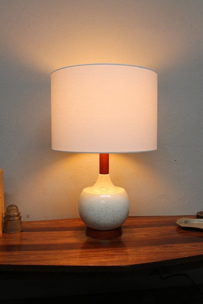 Ceramic Timber Table Lamp