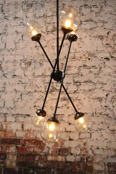 Chandeliers for residential or commercial use. bar or cafe lighting. commercial fitout design.