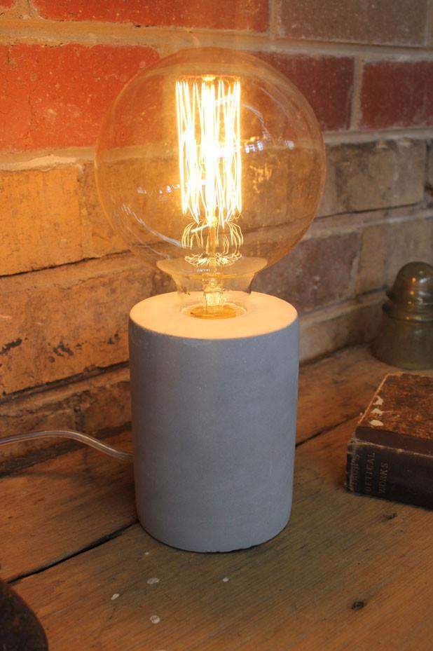 Concrete table lamp lamps are one of the most easiest and affordable ways to update your decor