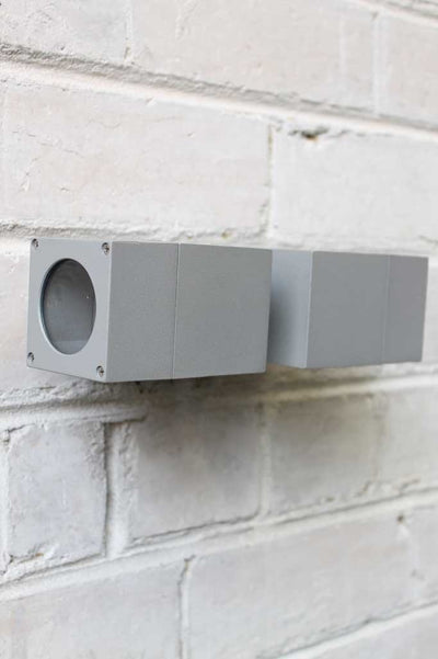 Cube outdoor wall light. Outdoor wall lights can be used in a number of different home exteriors