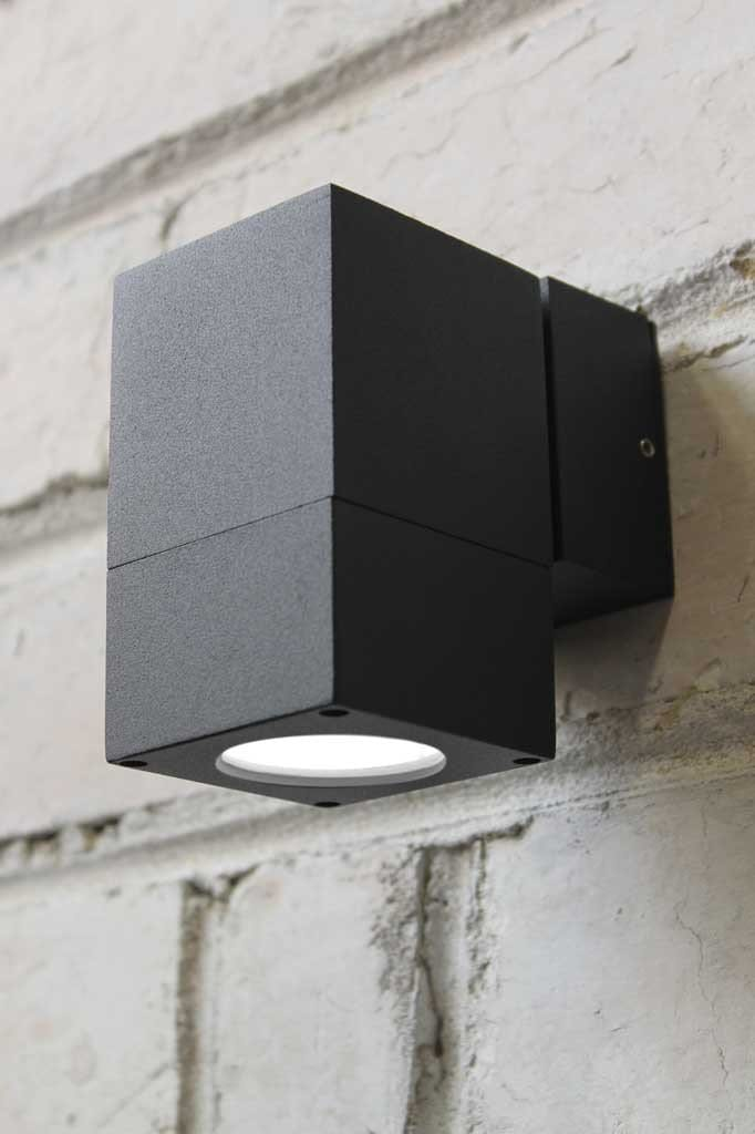 Cube outdoor wall light. outdoor lighting