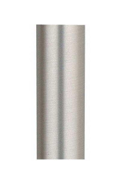 Downrod for emerson fan in brushed steel