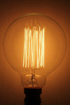 Edison Bulb - Large Round Squirrel Cage Filament