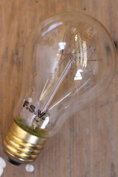 Edison bulb quad loop round 25watts