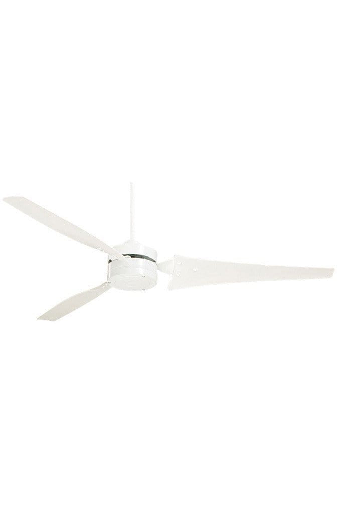 Emerson loft ceiling fan in white