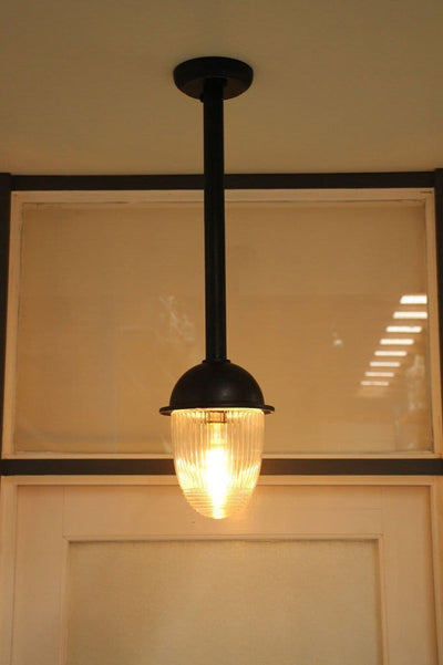 Exterior rod pendant light. front door entrance lighting. pendants for exterior use.