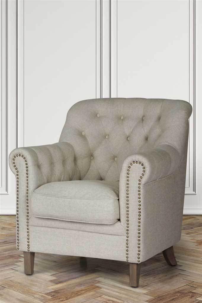 Huxley Fabric Club Armchair