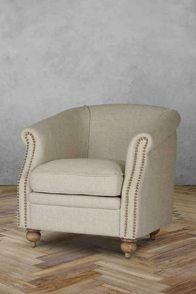 F arm007 x101 vintage fabric armchair Australian furniture online tub chairs