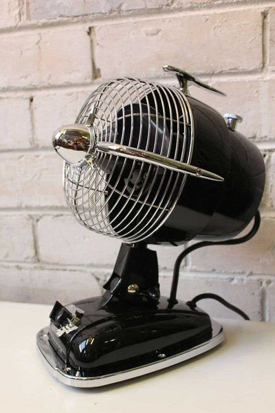 Fanimation retro desk fan pointed up