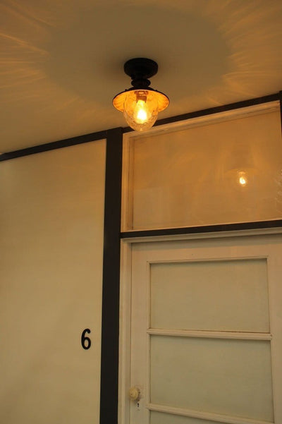 Front porch lighting. period style home outdoor lights. flush mount fittings Australia