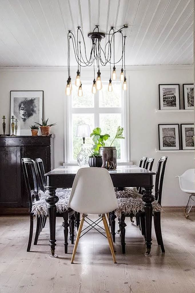 9 pendant light chandelier makes a striking centrepiece in any room.