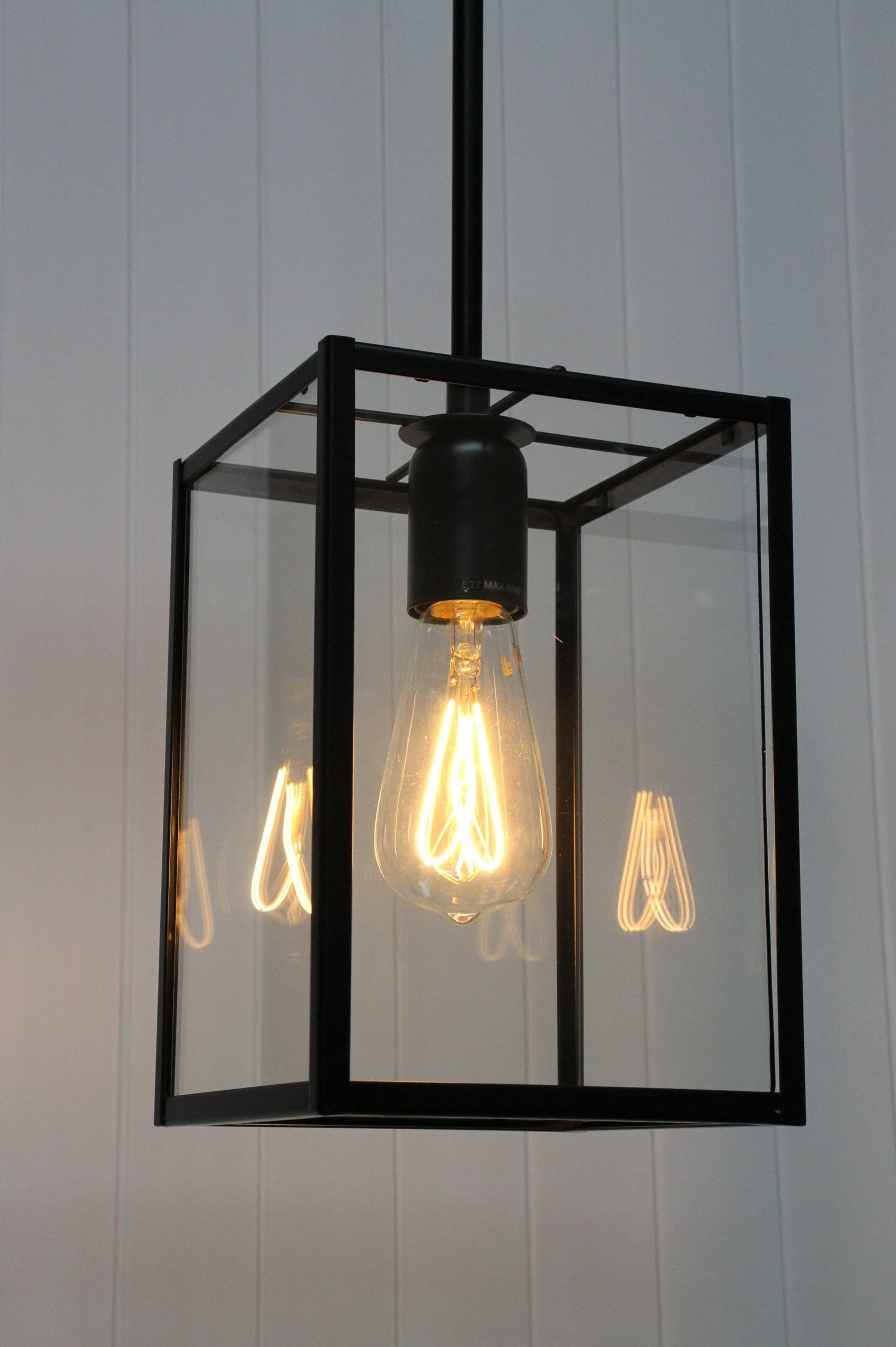 Manly Glass Pendant Light Hamptons Style Lighting Fat Shack Vintage