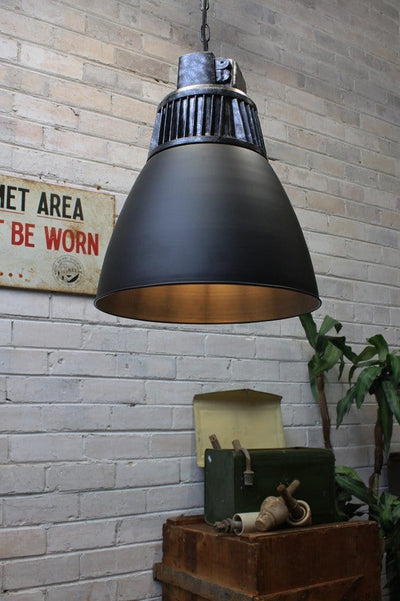 Hangar pendant light vintage high bay style